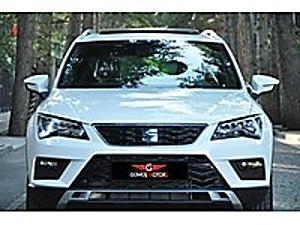 GÜMÜŞ MOTORS DAN SIFIR 2020 ATECA CAM TAVAN GERİ GÖRÜŞ XCELLENCE Seat Ateca 1.6 TDI Ecomotive Xcellence