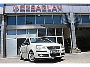 Özsağlam dan 2009 Model VW Polo 1.4 TDI Trendline 245binde Beyaz Volkswagen Polo 1.4 TDI Trendline