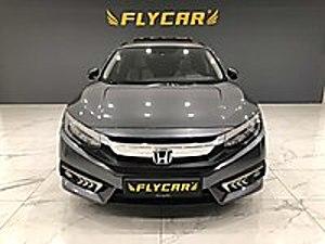 FLYCAR  2018 ECO EXECUTİVE 24.803 KM DE SUNROOF DERİ NAVİGASYON Honda Civic 1.6i VTEC Eco Executive