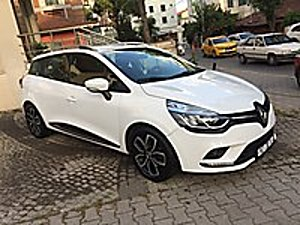 2017 SPORT TOURER TOUCH EDC KAZASIZ DEĞİŞENSİZ SERVİS BAKIMLI Renault Clio 1.5 dCi SportTourer Touch