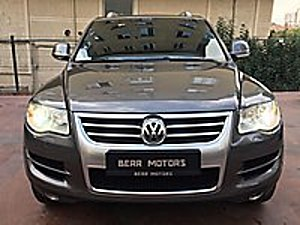 BERR MOTORS TAN 2008 MODEL VOLKSWAGEN TOUAREG 3.0 TDİ EXCLUSİVE Volkswagen Touareg 3.0 TDI Exclusive