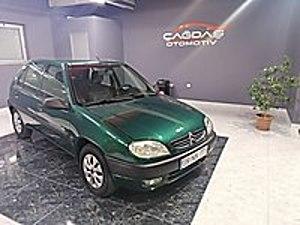 ÇAĞDAŞ OTOMOTİV 2000 MODEL CİTROEN SAXO TAM OTOMATİK KLİMA Citroën Saxo 1.4 SX