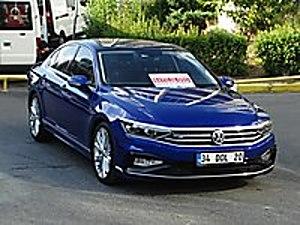 MURATOTOMOTİV DEN 2020 - 7 BİNDE 1.6 TDİ BMT R LİNE YARIŞ MAVİSİ Volkswagen Passat 1.6 TDI BlueMotion R Line
