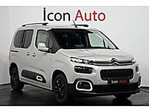 İCON AUTO - HATASIZ - 11-000 KM - ÇELİK JANT - 5 BÖLGE KAMERA Citroën Berlingo 1.5 BlueHDI Shine