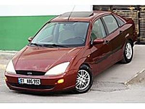 HATASIZ BOYASIZ HASAR KAYITSIZ SUNROOFLU 2001 FORD FOCUS FUL Ford Focus 1.6 Ghia