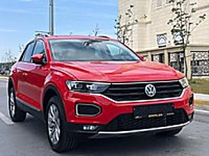 2020 MODEL VW 1.5 TSI T-ROC KIRMIZI HAYALET SIFIR HEMEN TESLİM Volkswagen T-Roc 1.5 TSI Highline