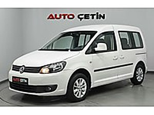2014 MODEL ÇOK TEMİZ EXTRA DOLU 1.6 TDI CADDY TEAM OTOMATİK Volkswagen Caddy 1.6 TDI Team