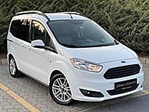 2017 82 BİNDE HUSUSİ OTOMOBİL SERVİS BAKIMLI  18 KDV  Ford Tourneo Courier 1.6 TDCi Journey Titanium