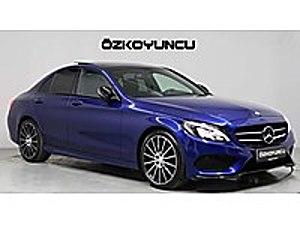 2016 C 180 AMG 65.000 KM BLACK NIGHT PAKET İMZALI SERİ ... Mercedes - Benz C Serisi C 180 AMG 7G-Tronic