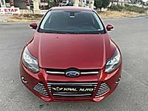 30 BİN PEŞİNATLA 2013 FOCUS 1.6 TDCI TİTANİUM LANSMAN RENGİ Ford Focus 1.6 TDCi Titanium