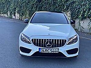 ARS AUTO DAN 2015 86 BİN KM MERCEDES C180 AMG İÇİ KIRMIZI İMZALI Mercedes - Benz C Serisi C 180 AMG 7G-Tronic