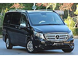 AY AUTO 2015 MİNİBS RUHSAT 114 CDİ OTOMATİK KAPI İÇİ SIFIR VİP  Mercedes - Benz Vito Tourer 114 CDI Pro