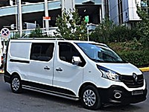 2017 53.000 KM HATASIZ BOYASIZ 5 1 CİTY VAN UZUN YOL PAKETİ Renault Trafic 1.6 dCi Grand Confort