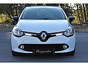 HATASIZ 55.000 KM 2014 OTOMATİK NAVİGASYON 90HP TOUCH BEYAZ Renault Clio 1.5 dCi Touch