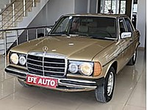 EFE AUTO DAN ORİJİNAL 1982 MERCEDES 230E KLİMALI OTOMATİK Mercedes - Benz Mercedes - Benz 230 E