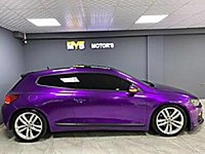 2013 SCRİCCO 1.4 TSi OTOMATİK 160 BEYGİR SİYAH ÜZERİ MOR KAPLAMA Volkswagen Scirocco 1.4 TSI Sportline
