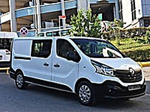 2017 85.000 KM HATASIZ BOYASIZ 5 1 CİTY VAN UZUN YOL PAKETİ Renault Trafic 1.6 dCi Grand Confort