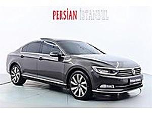 2016 MODEL DEĞİŞENSIZ CAM TAVANLİ TERRAROSSA KAHVE RENGİ    Volkswagen Passat 1.6 TDI BlueMotion Highline