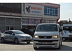 DENİZATI OTOMOTİVDEN 2004 TRANSPORTER CİTYVAN 276 BİNDE ORJİNAL Volkswagen Transporter 1.9 TDI City Van