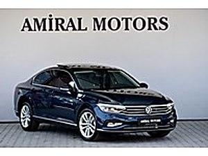 2020 PASSAT DSG HAYALET CAM TAVAN NAVİ MASAJLI K. İQ LED 0 KM Volkswagen Passat 1.6 TDI BlueMotion Elegance