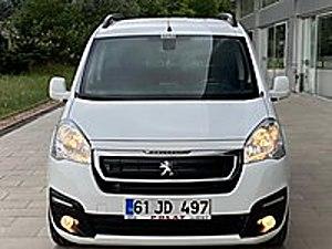 2017 PARTNER TEPEE ALLURE 115 HP 5 İLLERİ 15 DAKİKADA KREDİ İLE Peugeot Partner 1.6 HDi Allure