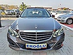EROĞLU  2015 MERCEDES E180 EXCLUSIVE Edıtıon E EĞLENCE PAKETLİ Mercedes - Benz E Serisi E 180 Edition E