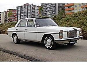 KARAKILIÇ OTOMOTİV 1973 MERCEDES BENZ 220 BENZİN LPG Mercedes - Benz Mercedes - Benz 220