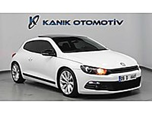 KANIK OTO VW SCİROCCO1.4TSİ SPORTLİNE 160HP CAMTAVAN F1 BİXENON Volkswagen Scirocco 1.4 TSI Sportline