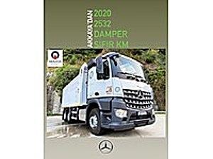 AKKAYA OTOMOTİVDEN 2020 SIFIR KM AROCS KLİMA HARDOX TR DE TEK  Mercedes - Benz Arocs 2532