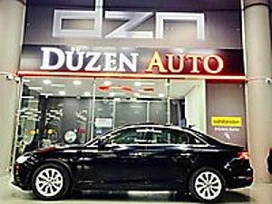 DÜZEN AUTO AUTOPİA 2016 A4 SEDAN 2.0 TDİ DESİGN SUNROOF İÇİ BEJ Audi A4 A4 Sedan 2.0 TDI Design