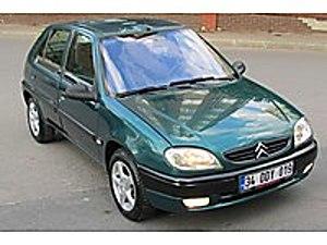 2001 CITROOEN SAXSO 1.5 D KLİMALI DEGİŞENSİZ KAZASIZ Citroën Saxo 1.5D SX
