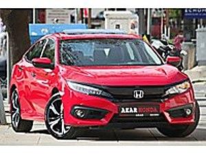 AKAR HONDA DAN 2017 CİVİC RS 1.5 TURBO VTEC 182 BG HATASIZ Honda Civic 1.5 RS