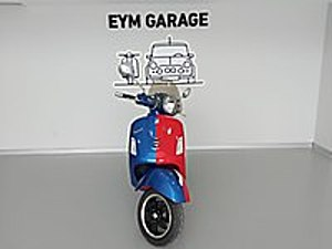 EYM GARAGE DEN ÖZEL PLAKALI PROJE MOTORU Vespa GTS 300