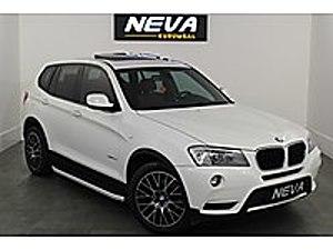 2011 BMW X3 20D XDRİVE PREMİUM -CAM TAVAN-KEYLESSGO BMW X3 20d xDrive Premium