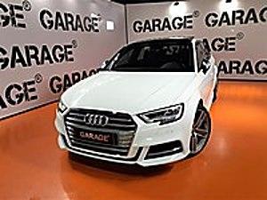 GARAGE 2018 AUDI S3 2.0 TFSI QUATTRO SPORTBACK.CAM TAVAN-HATASIZ Audi S Serisi S3 2.0 TFSI Quattro
