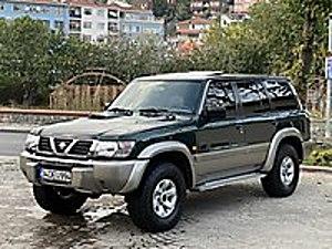 2001 Patrol 3.0 TDI Turbo Otomatik Hatasız Sunroof 7 Koltuk Nissan Patrol 3.0 DI