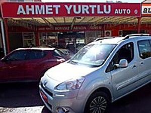 AHMET YURTLU AUTO dan 2014 MODEL 124.000KM ACTİVE BOYASIZ Peugeot Partner 1.6 HDi Active
