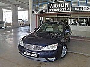 AKGÜN den 2006 MONDEO 2.0TDCI 6 İLERİ MANUEL GHİA İÇİ BEJ DÖŞEME Ford Mondeo 2.0 TDCi Ghia