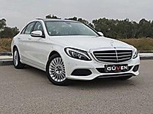 2018 C200d BLUTEC EXCLUSİVE 14300KM BEYAZ BEJ HATASIZ BOYASIZ Mercedes - Benz C Serisi C 200 d BlueTEC Exclusive