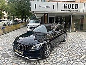 AUTO GOLD DAN BOYASIZ C 200 D AMG DERİ ISITMA F1 PANORAMİK FULL Mercedes - Benz C Serisi C 200 d BlueTEC AMG