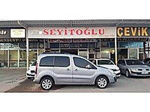 100 BİNDE BOYASIZ PARTNER 1.6 HDİ ZENİTH CAM TAVAN FULL  FULL Peugeot Partner 1.6 HDi Zenith