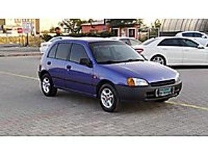 1998 TOYOTA STARLET 1.3İ   MUAYENE YENİ EMSALSİZ TEMİZ ARAÇ   Toyota Starlet 1.3 XLi