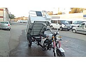 İLK SAHİBNDE SIFIRDAN FARKSIZ 3 TEKERLEKLİ 200 BENZİNLİ MOTOSİKT Kuba Pikap 200 Max