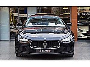 SCLASS 2014 MASERATİ GHIBLI 3.0 DIESEL HATASIZ BAYİ ÇIKIŞLI Maserati Ghibli 3.0