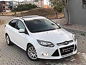 İlk SahibindenN SuNRooF  Smart Paket   Kendi Kendine Park   Sony Ford Focus 1.6 TDCi Titanium