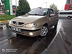 BAKIMLI 2001 MEGANE 1 SEDAN 1 6 BENZİNLİ LPG Lİ 16 VALF 107HP Renault Megane 1.6 RTE