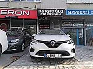 2020 SIFIR RENAULT CLİO OTOMATİK KARAOĞLU CAR RENTALS Renault Renault Clio