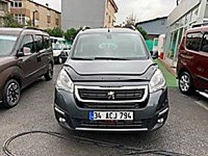2017 PEUGEOT PARTNER TEPEE 1.6 HDİ 115HP HATASIZ 93.000KM ALLURE Peugeot Partner 1.6 HDi Allure