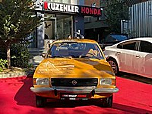 KUZENLER HONDA DAN 1975 REKORT 1.9 BERLİNA EMSALSİZ KONDİSYONDA Opel Opel Rekord