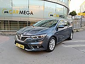 2017 MEGANE DİZEL OTOMATİK TİTANYUM GRİ SADECE 47.000 KM Renault Megane 1.5 dCi Touch